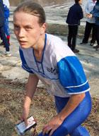 Чемпионка России в спринте на классической дистанции москвичка Татьяна Рябкина